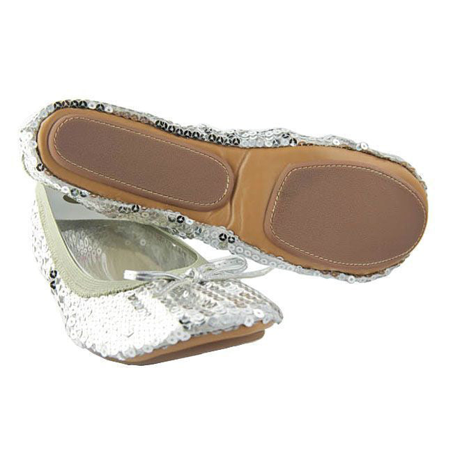 Sequin portable flats - Fit in Clouds