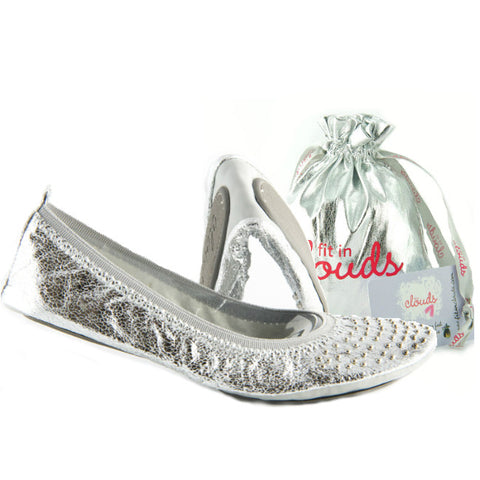 Silver foldup flats - Fit In Clouds