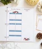 Printable Fall Meal Planner - DIGITAL DOWNLOAD