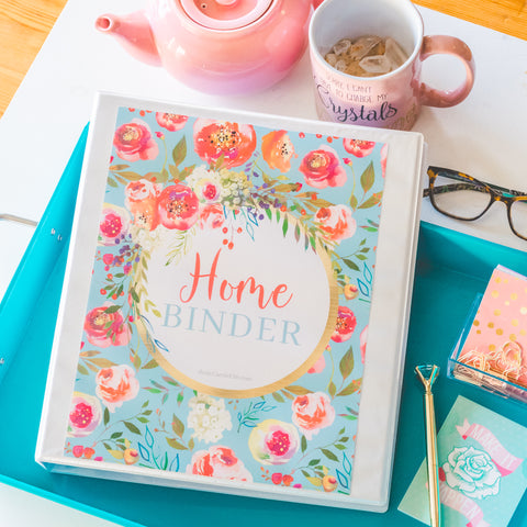 Printable Home Organization Binder - DIGITAL DOWNLOAD