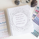 Black & White Intentional Life Day Planner - 7x9 Day Planner