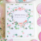 Printable Spend Well Budgeting Planner {Geo Garden} - DIGITAL DOWNLOAD