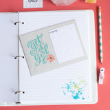 Intentional Life Day Planner MINI - Succulents