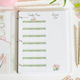 Printable Spring Meal Planner - DIGITAL DOWNLOAD