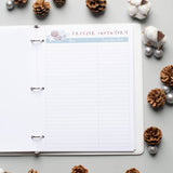Food Journal to count calories or track Weight Watchers points - Dot Diggity!