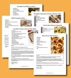 Family-Friendly Fall Recipes eBook - DIGITAL DOWNLOAD