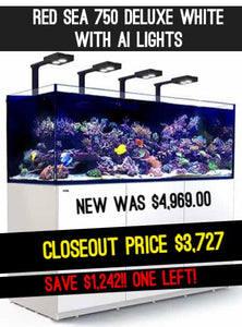Save $$$ on a Red Sea Aquarium! LIMITED AVAILABILITY!