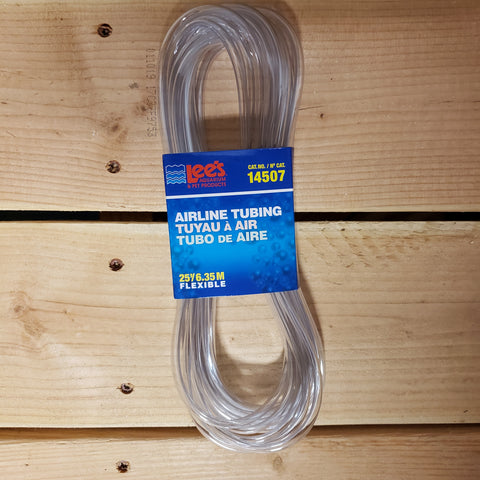 Lee's Clear Airline Tubing 25'