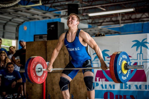 Conner Irwin Snatch FerroVia Athlete