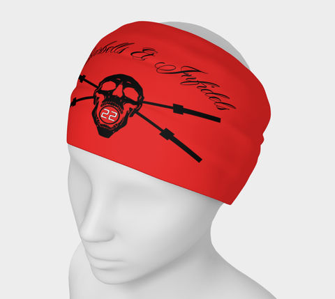 Barbells & Infidels Reversible Headband/ Face Mask (Covering) / FerroVia Logo