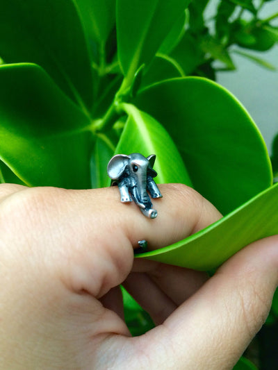 Vintage Elephant Ring - Dream Closet