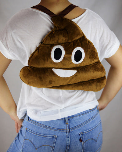Poop Emoji Backpack - Dream Closet