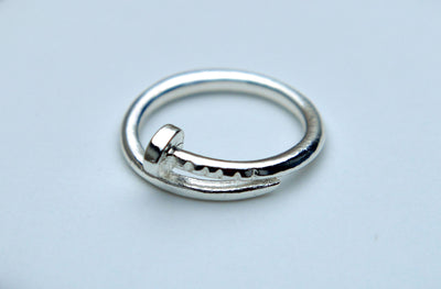 Silver Nail Ring - Dream Closet