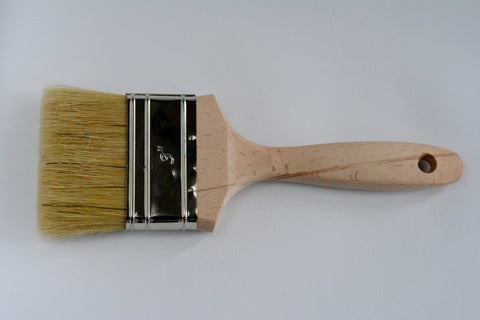 "Flat Chalk Paint Brush 3"" / 80mm"