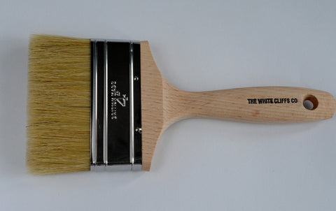 "Flat Chalk Paint Brush 4"" / 100mm"