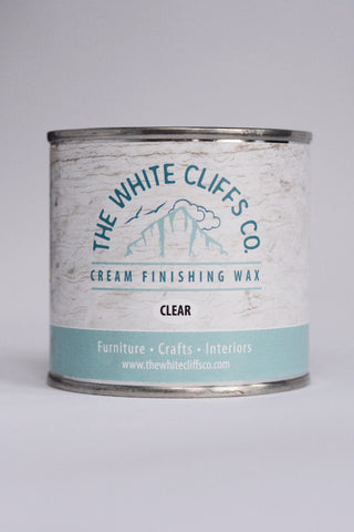 Cream Finishing Clear Wax 250ml