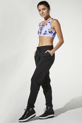 925 Fit Get Up And Go Black Pants