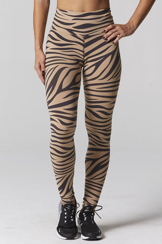 925 Fit Hi Standards Zebra Legging