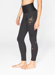 CHRLDR Golden Lips - High Waisted Leggings