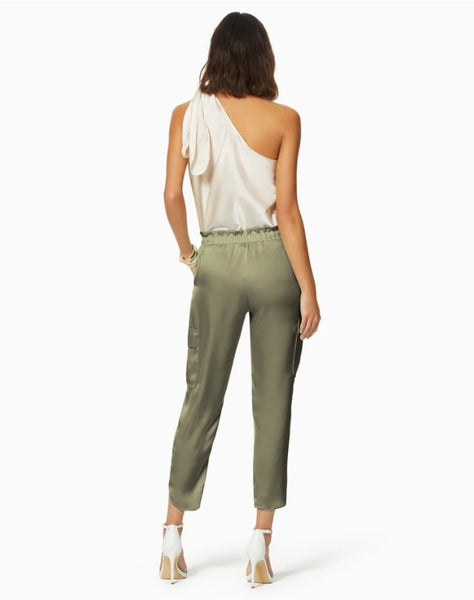 Ramy Brook Satin Pocket Allyn Sage Pant