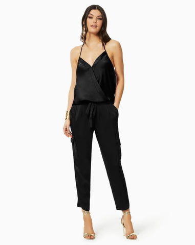 Ramy Brook Satin Pocket Allyn Top