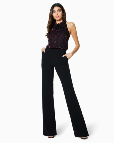 Ramy Brook Floral Burnout Leona Jumpsuit