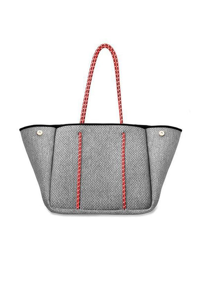 annabel-ingall-neoprene-light-heather-with-coral-straps-bag