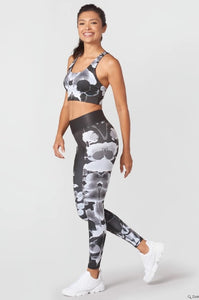 Terez Shaded Inkblots Tall Band Leggings