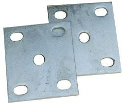 Gal Fish Plate  Each Slotted  45Mm X 39-56Mm X 10Mm Thick
