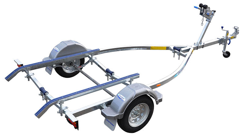Dunbier Trailer Sports 4.3M-13'' Long Steel Polly Pads