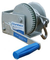 Dunbier 3-1 Winch & Cable (Dacromat Finish)