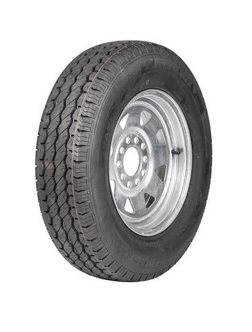 "Bricon Marine Wheel 13"" Galv Rim 165 Commercial  Tyre"
