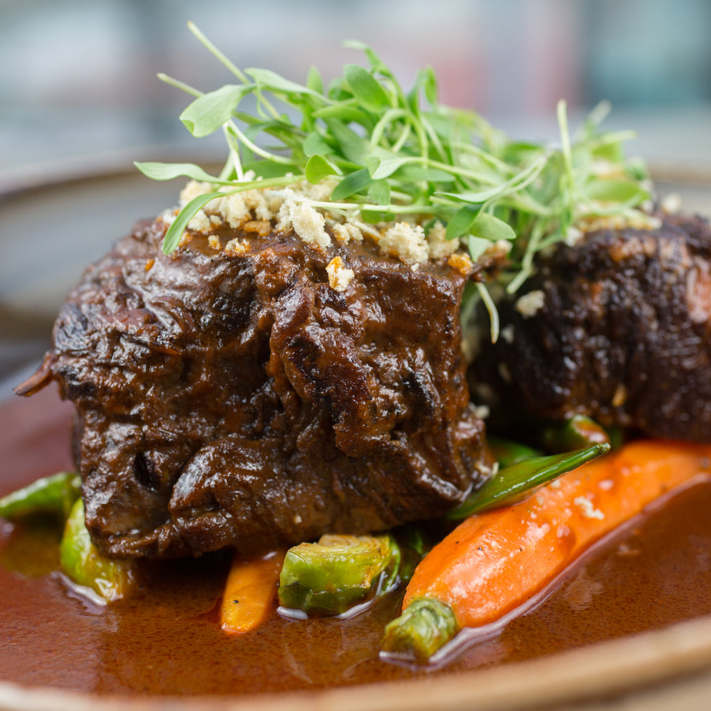 """pressure cooker braised short rib - Nature's Kitchen"""