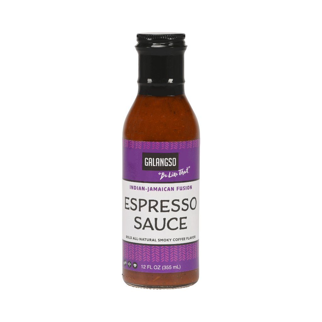 GALANGSO ESPRESSO SAUCE & MARINADE - 12 Oz - Nature's Kitchen