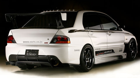 VARIS GT Wing EURO Edition with Carbon Stands Mitsubishi Evo 7-9 CT9A (Full Carbon)