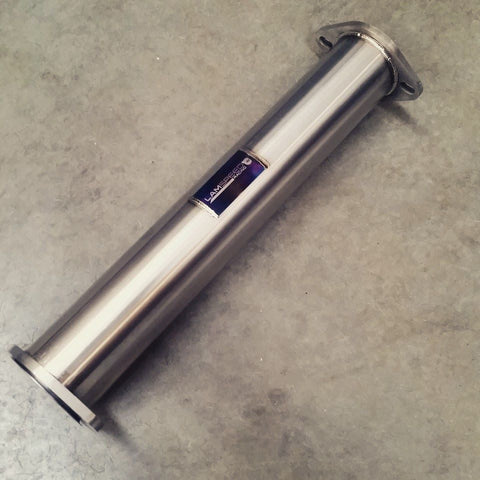 "Lamspeed Racing 3"" Titanium decat pipe Evo 7-9"