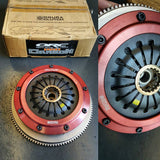 Ogura Racing ORC 559CC Pro Carbon Twin Plate Clutch and Flywheel Assembly Mitsubishi Evolution 4-9