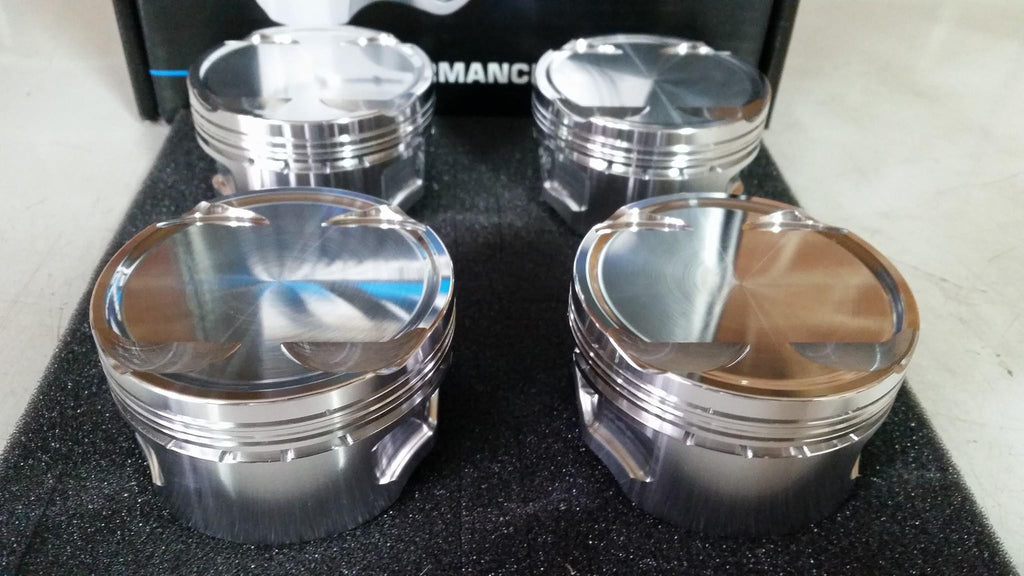 Lamspeed Racing Billet Pistons - 7 Bolt 4G63, 94mm Stroke