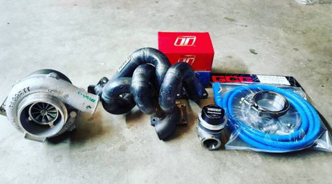 "Lamspeed Racing ""Street Fighter"" T3 Mitsubishi 4G63/64 Evolution 4-9 Turbo Kit 360-640HP"