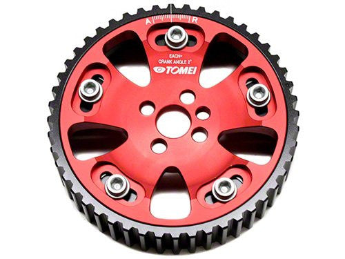Tomei Adjustable Cam Gears 4G63 Evo 4-9