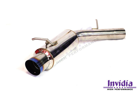 INVIDIA N1 CAT BACK EXHAUST SYSTEM - MITSUBISHI EVOLUTION 4-6 INC TME
