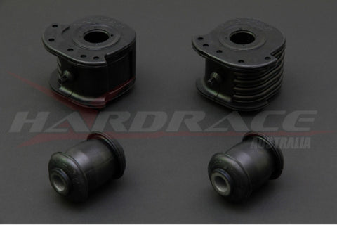Hardrace Front Lower Control Arm Bushing, Harden Rubber, 4pcs, EVO 1-3, Lancer,Mirage 93-00