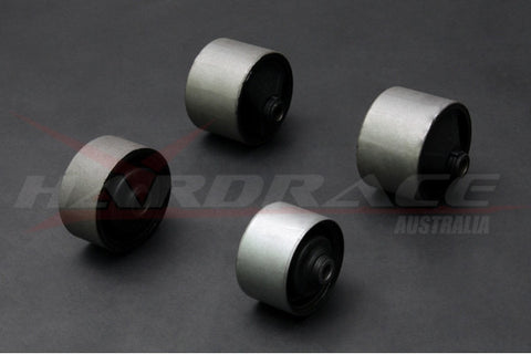 Hardrace Engine Mount bush kit, 4pcs, EVO 4