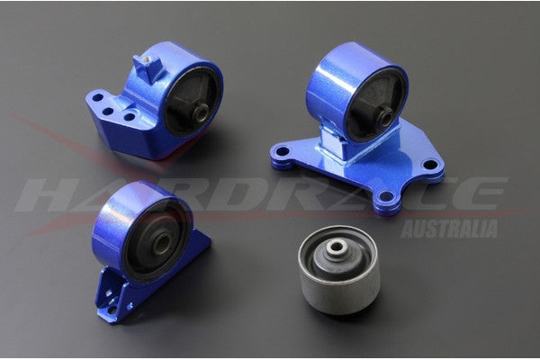 Hardrace Engine Mount Complete Kit- Race, 6speed, EVO 7-9