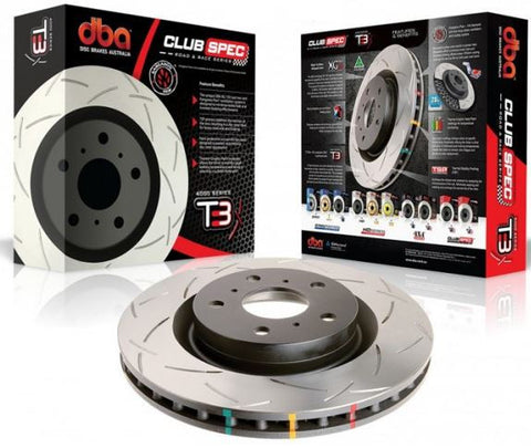 DBA4000 Club Spec T3 EVO 4-9 (Front)