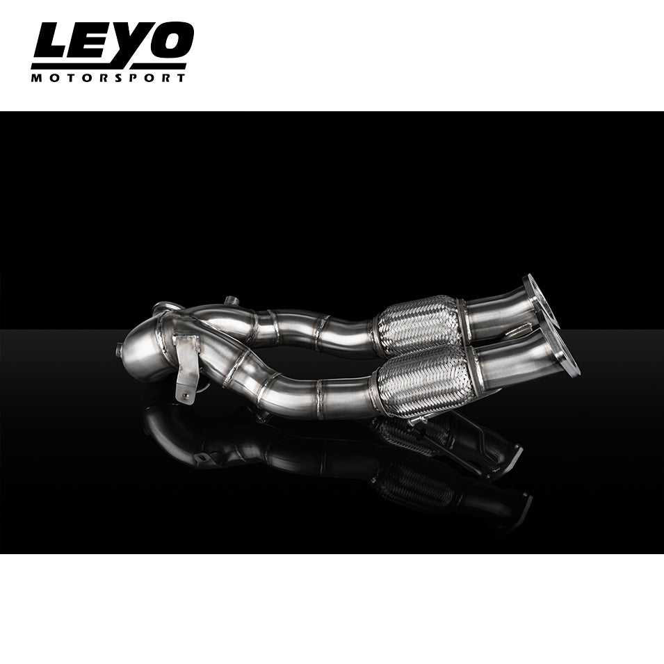 Leyo Motorsport Audi RS3 Facelift Downpipe