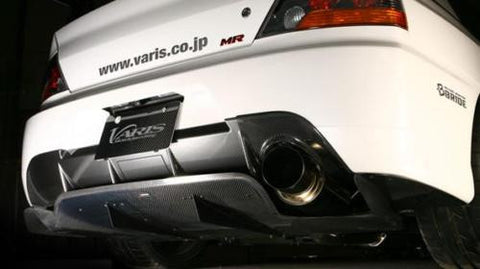 Genuine Varis Rear Carbon Diffuser Version 2- Mitsubishi Evo 9 CT9A