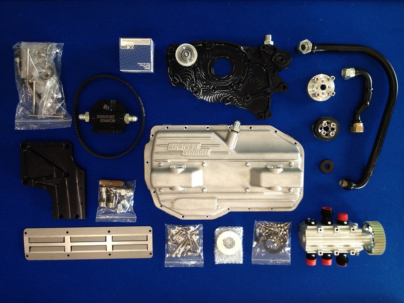 Norris Designs Version 3+ Dry Sump Kit - Mitsubishi Evo 4-9