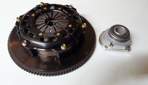 Norris Designs Quad plate clutch kit to suit Mitsubishi Evolution 4-9 4G63 1200Hp+ Rating
