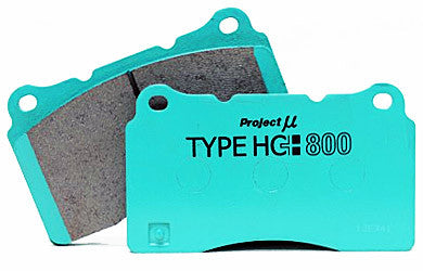 Project Mu HC800 Rear Brake Pads - Brembo - Evo 5-10, Subaru STI